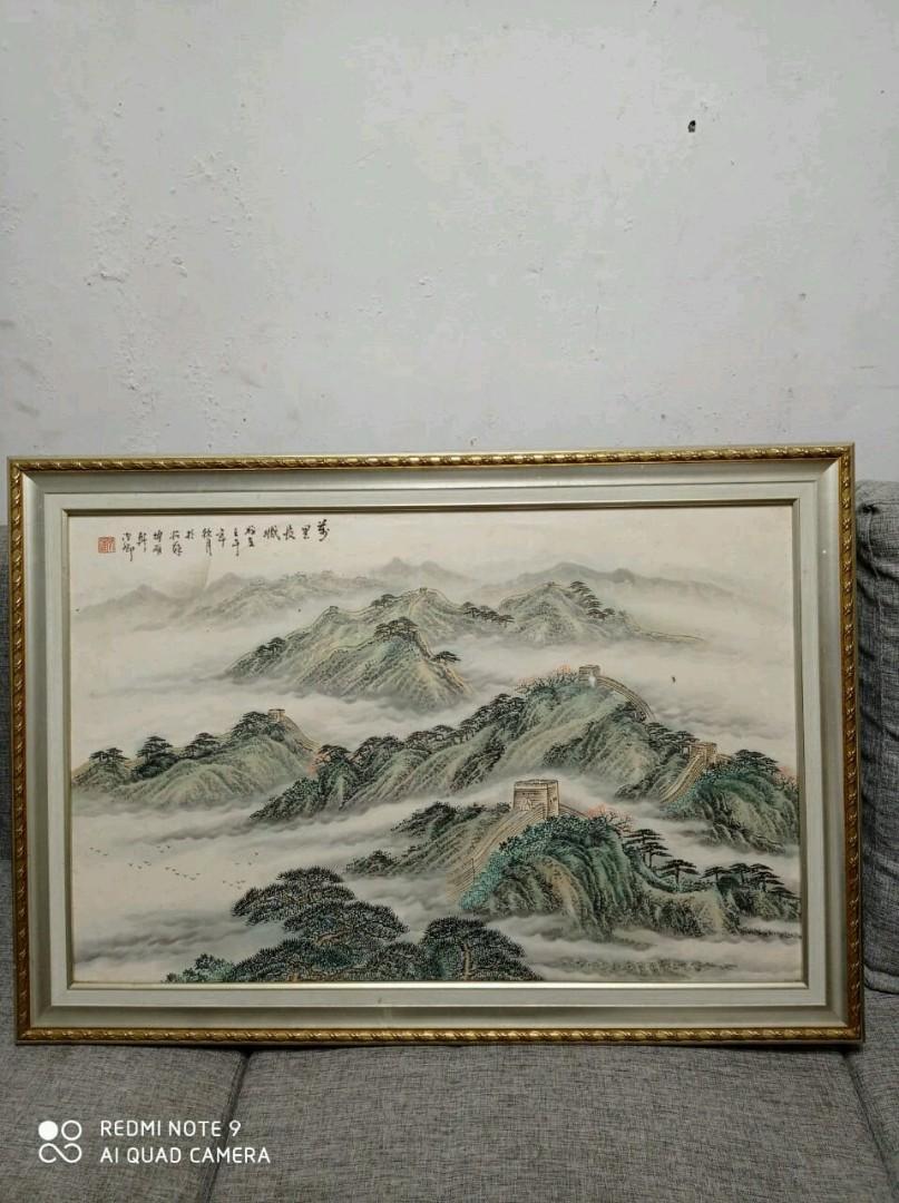 Lukisan Tembok China Karya Lee Man Fong