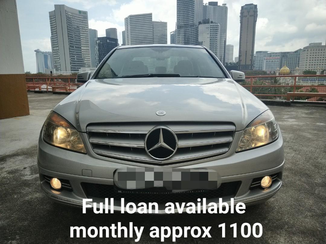 Mercedes-Benz C180 Exclusive (A)