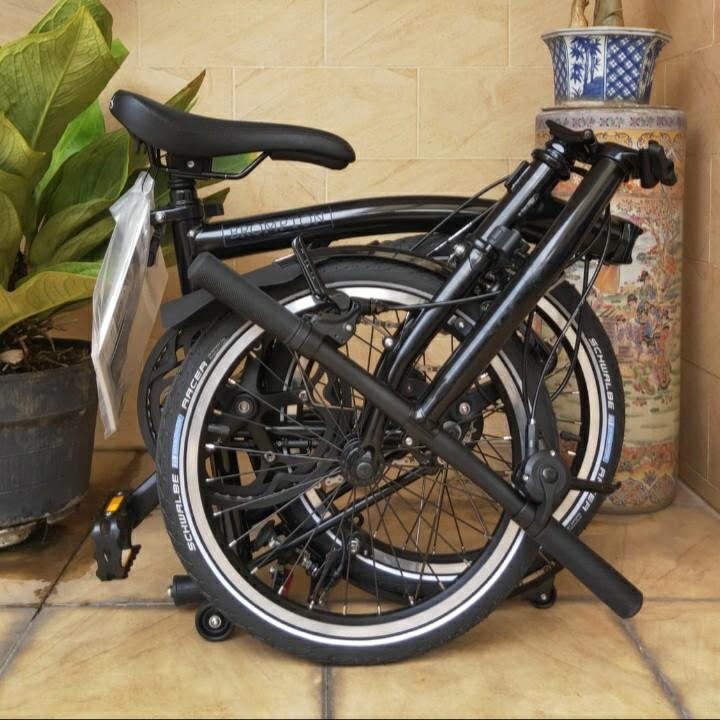 NEW Brompton S2L Black Edition Th 2020