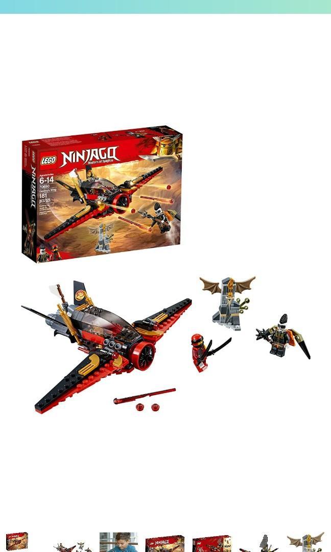 New Lego Ninjago Masters of Spinjitzu