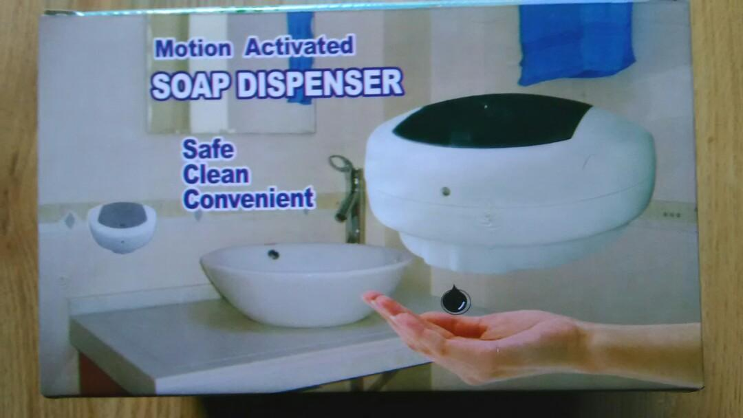 NEW MOTION ACTIVATED SOAP DISPENSERS