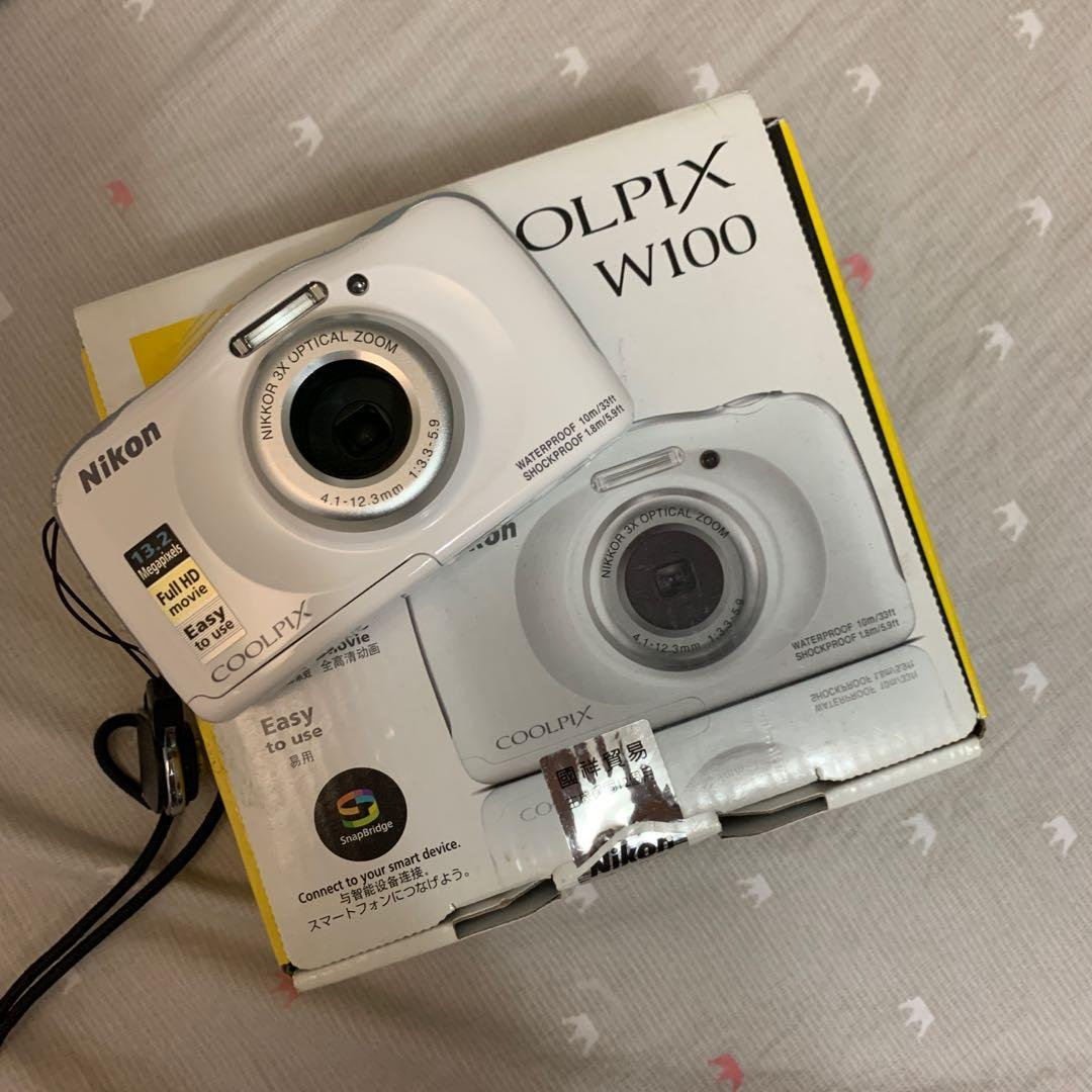 (可議價)Nikon w100防水防塵相機