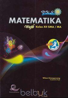 Preloved fotocopy buku matematika wajib kelas 12 kurikulum 2013 edisi revisi