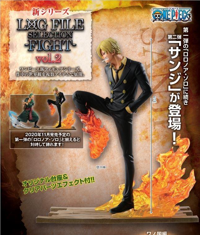 [Pre-Order] Gold Toei LOG FILE SELECTION FIGHT VOL.2 Sanji