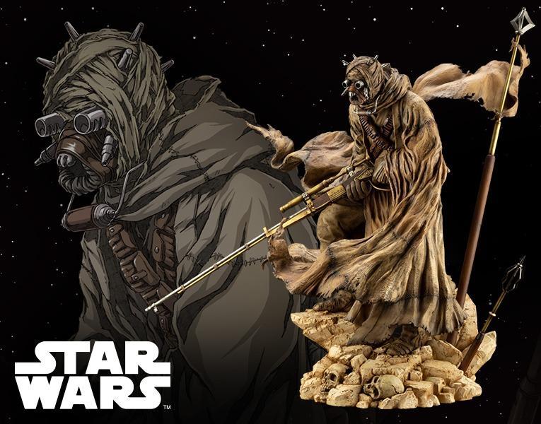 [Pre-Order] Kotobukiya SW167 ARTFX Artist Series Tusken Raider Barbaric Desert Tribe - Star Wars: A New Hope