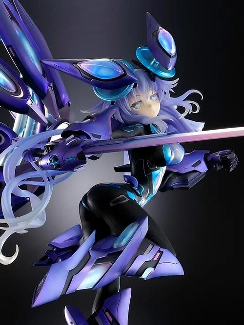 [Pre-Order] Vertex 1/7 Next Purple Processor Unit FULL Ver. Figurine (Re-run) - New dimension game Neptunia VII