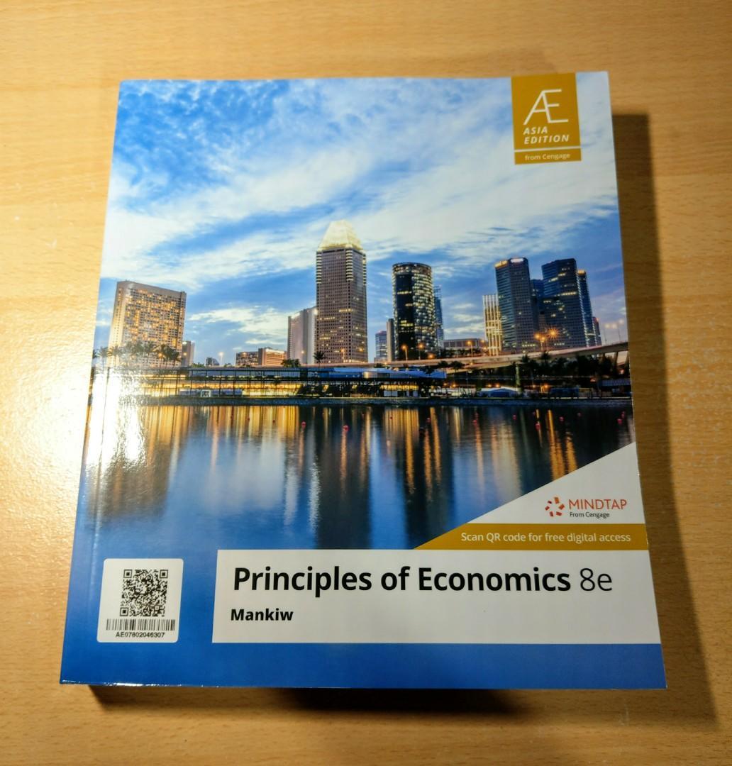 Principles of Economics 8e 經濟學原文書