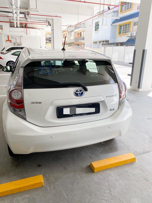 Prius c hybrid