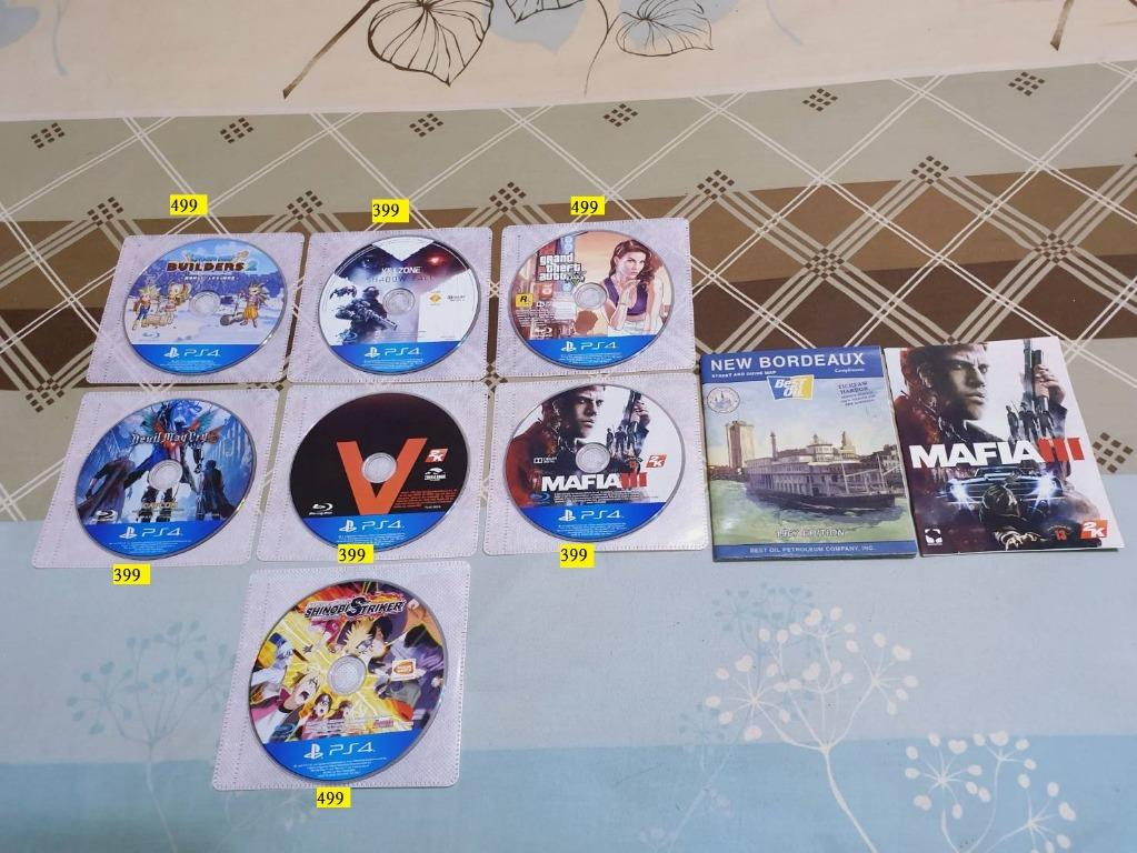 便宜販售許多PS4遊戲