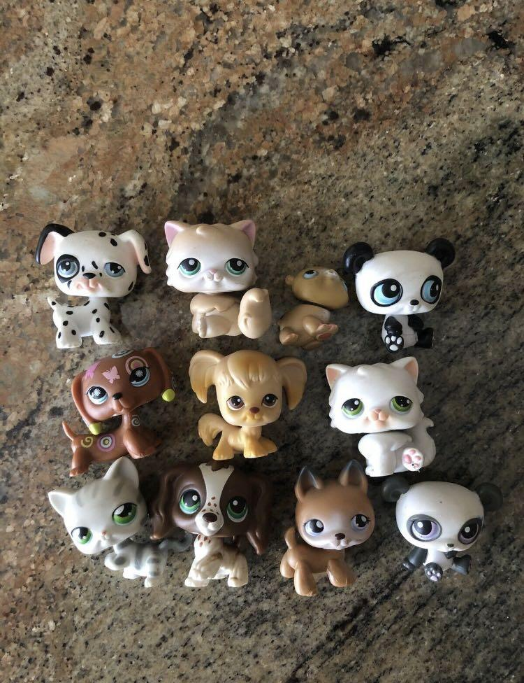 Rare Littlest Pet Shop Original Short Hair Cats/Dogs/Animals Bundle