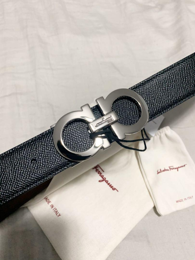 Salvatore Ferragamo Leather Belt - Brand New with Tags (Never Worn)