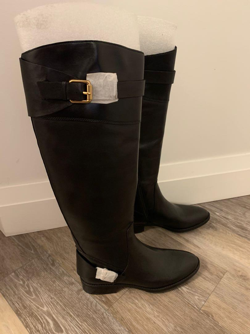 Sam Edelman Knee-High Leather Boots