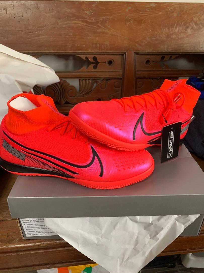 Sepatu Futsal Nike Superfly 7 Elite IC Laser Crimson