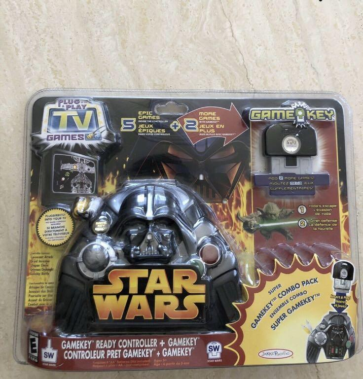 Star Wars Jakks Pacific Plug and Play Game Set