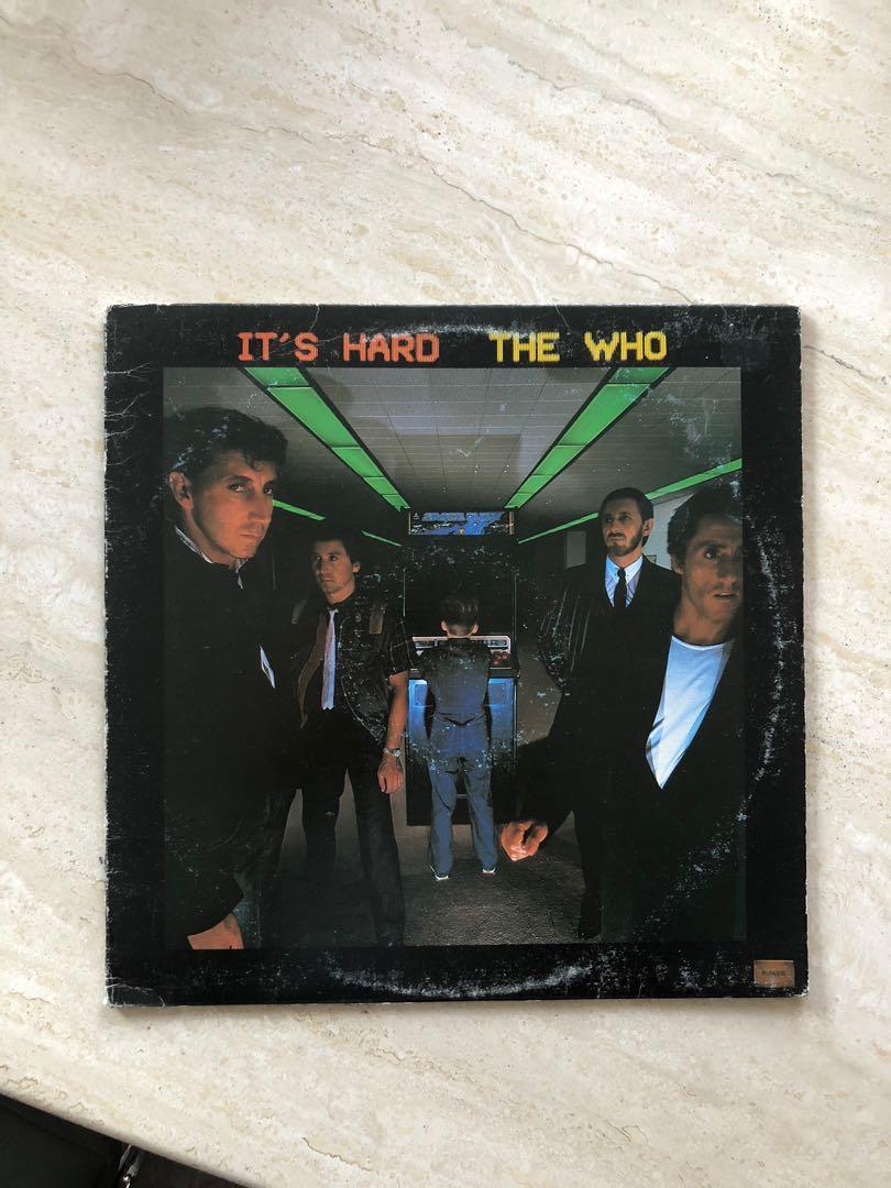 The Who - It's Hard - EX Vinyl Record