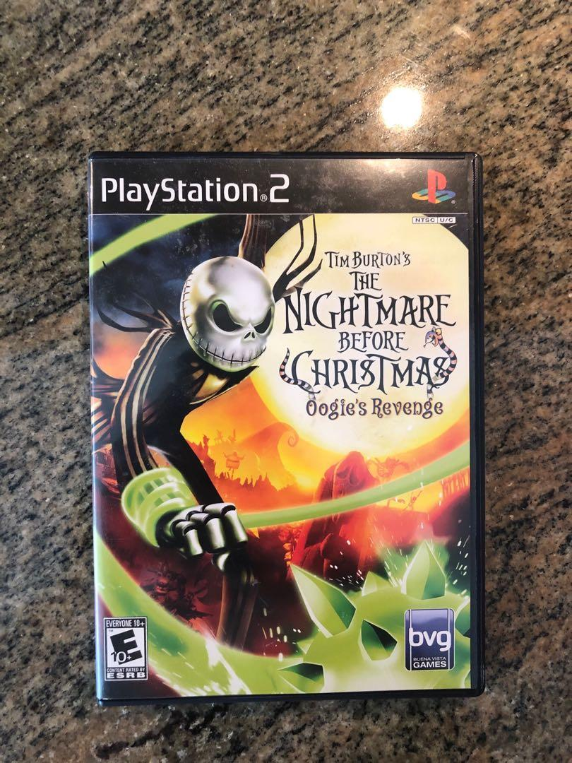 Tim Burton's The Nightmare Before Christmas: Oogie's Revenge PS2 Complete Tested
