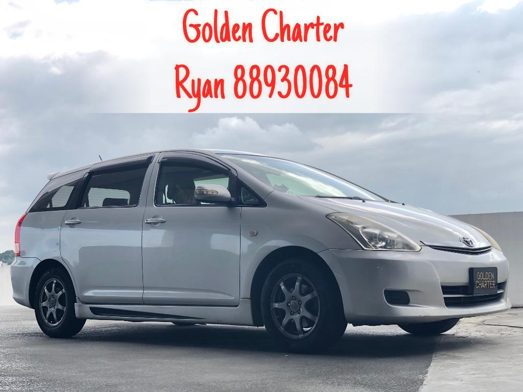 Toyota Wish For Rent ! PHV - GOJEK/GRAB | Personal