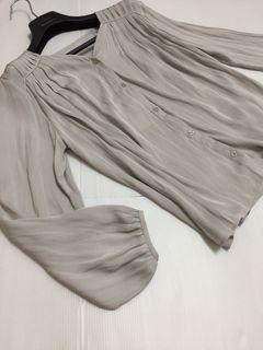 UNITED ARROWS 高級感法式襯衫