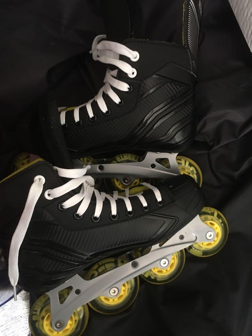 Used once- Bauer RS Rollerblades
