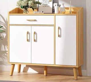 Wooden Shoe Storage Modern Shoe Cabinet