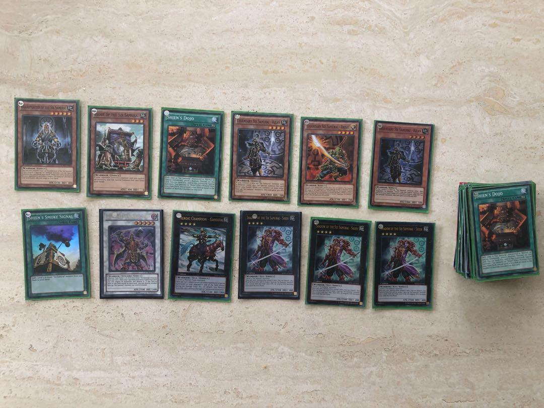 Yugioh Card Lot of 70 (STOR, SDWA etc)