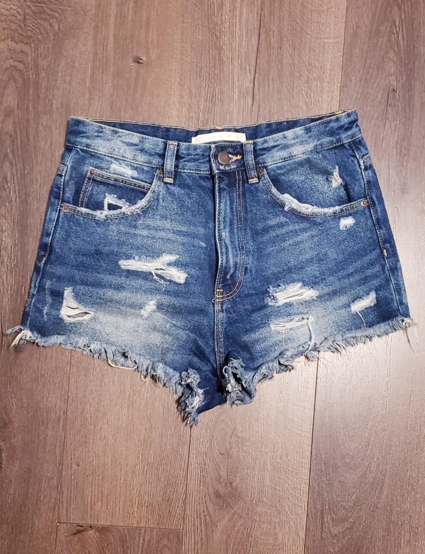 Zara Jean Shorts (Size 4)