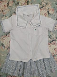 二手 制服 會稽中學 女學生 短袖 夏季制服 水手服