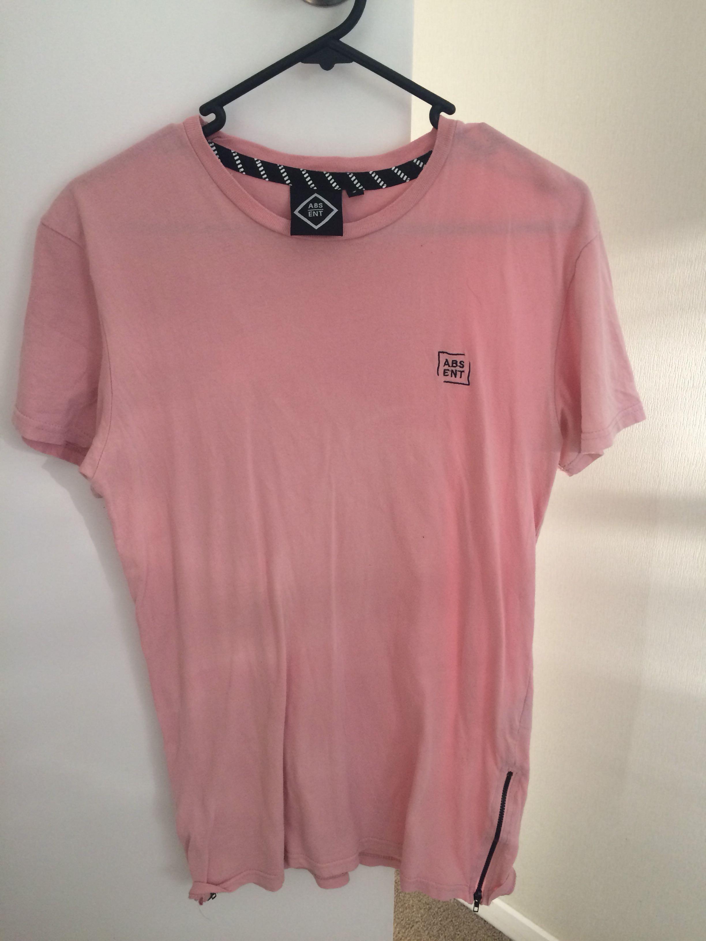 Absent pink shirt