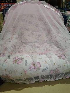 Baby bed/ bassinet with mosquito net
