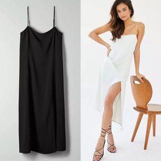 BNWT Aritzia Babaton Slit Slip Dress