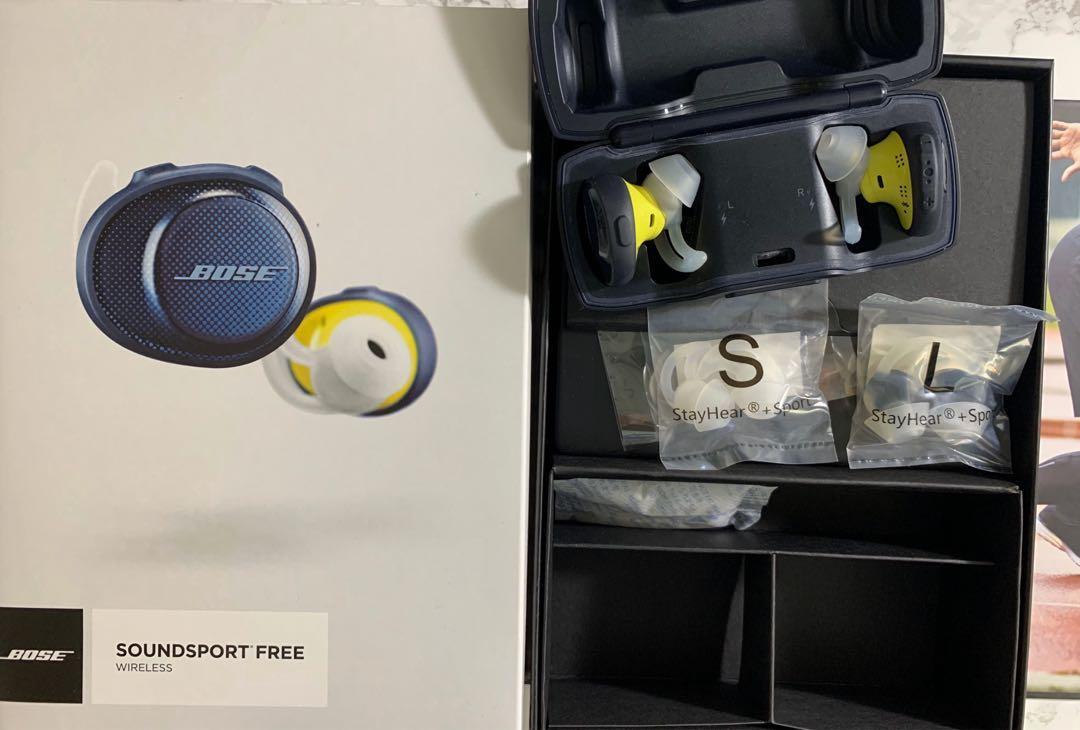 Bose soundsport bluetooth wireless headphones