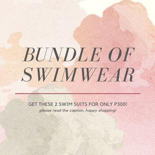 BUNDLE OF SWIMSUITS