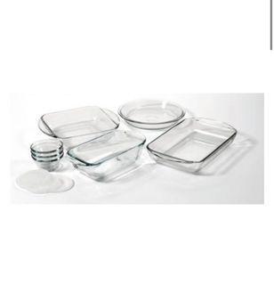 GLASS BAKE set 10pc