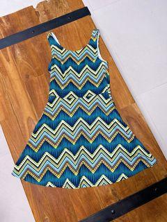 法國H&M幾何圖形洋裝