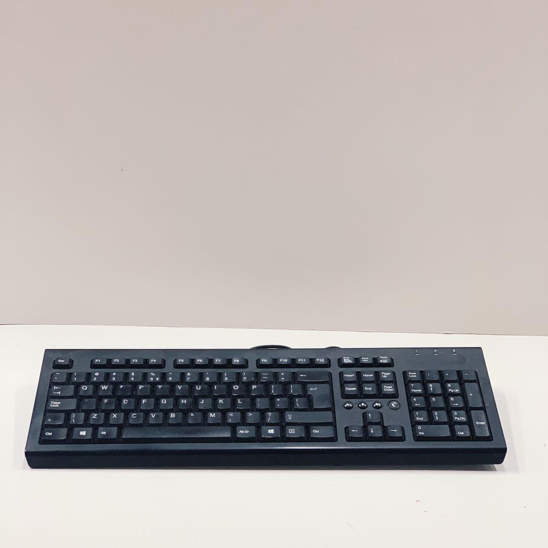 Hp Value Pr1101u Wired Usb Keyboard Electronics Computer Parts Accessories On Carousell