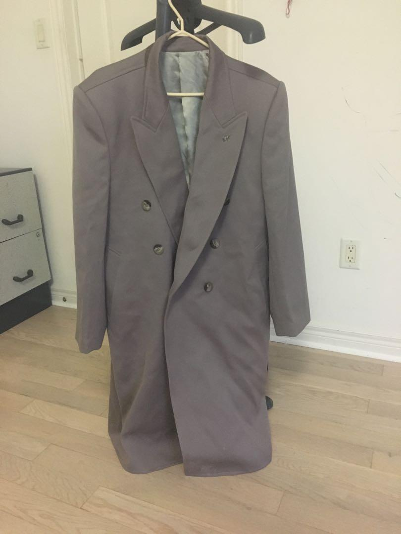 Luxurious Classy Mens Trench Coat XL