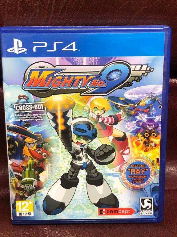 Mighty No.9 ENGLISH 麥提9號 中英文版 附特典 PS4 遊戲 二手