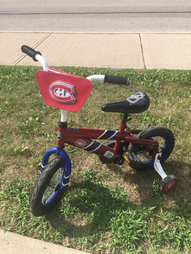 "Montreal canadiens 12"" kids bike"