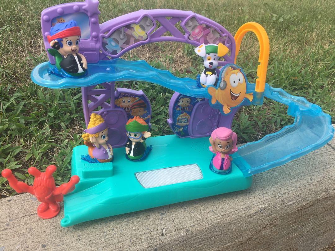 Nickelodeon bubble guppies rock and roll playset