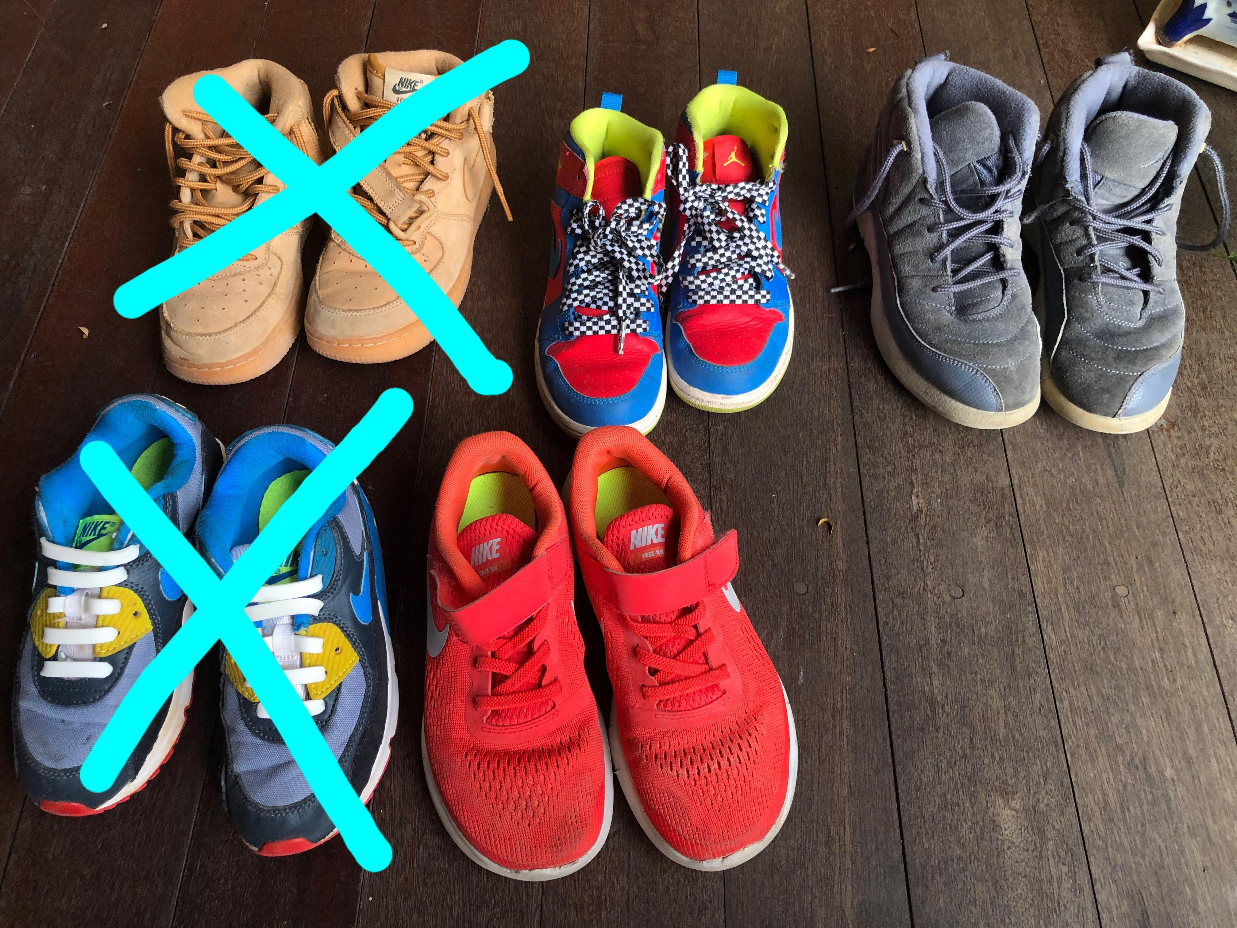 Nike shoes for children, kids! Airforce