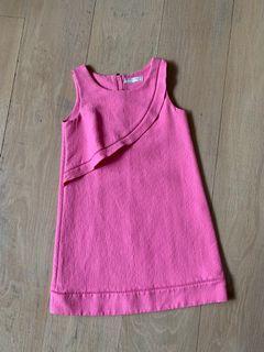 ZARA Pink dress age 9-10