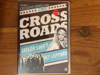 Taylor Swift Def Leppard Cross Roads DVD