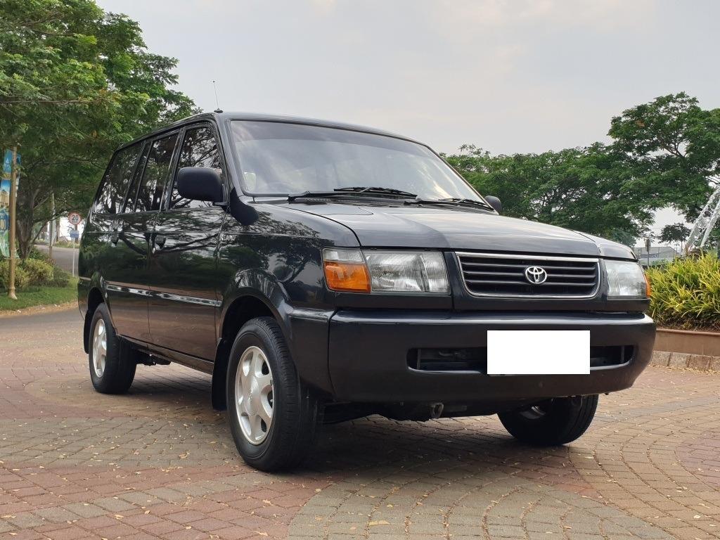 Toyota Kijang LGX 1997 Abu Metalik Full Orisinil Istimewa