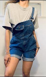 Vintage Jean Overalls