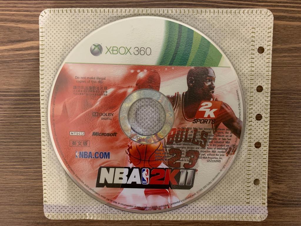 XBOX 360 NBA 2K11