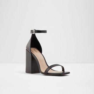 Aldo Black block heels sandals
