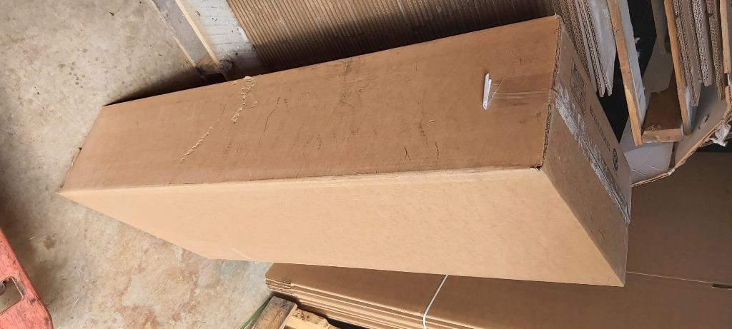 """Boxes-Strong, New Brown 3-ply corrugated H43*W19*b9"""", 400 avlbl"""