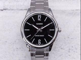 Casio MTP-V005D-1B Men's Analog Quartz Watch MTPV005D-1B Steel MTPV005 Brand New