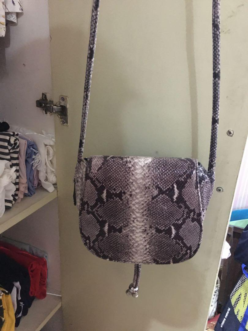 Continental Intento Oso polar  Super sale!!! Clarks snake print sling bag, Women's Fashion, Bags &  Wallets, Sling Bags on Carousell