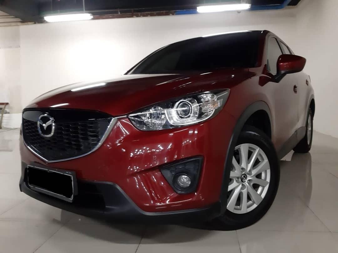 Di-Jual Nego th.2012 Mazda CX-5 GT SkyActive 2.0L Automatic.Keyless,Sunroof,Elektrik SEAT.type Tertinggi.Unit SUV .Tangan Pertama dari BARU.Nopol B-Tangerang(Genap).harga Cash/Credit Nego sama Aja